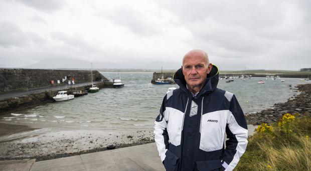 Mullaghmore man Peter McHugh was among locals who set out to try and rescue people after an IRA bomb exploded on Lord Mountbatten's boat on August 27, 1979. (Liam McBurney/PA)