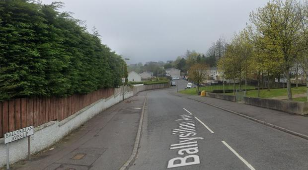 The incident happened in the Ballysillan Avenue area of north Belfast. Credit: Google