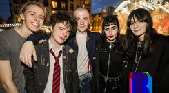 24 Aug 2019 - Music fans out to see Stiff Little Fingers at CHSq. (Liam McBurney/RAZORPIX)