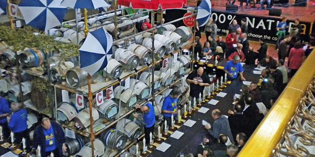 The Belfast Beer and Cider Festival has taken place at the Ulster Hall for a number of years.