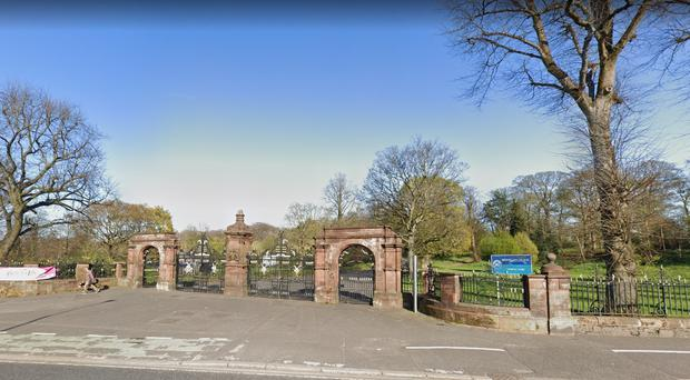 Police believe the arranged fight will take place at Ormeau Park in south Belfast. Credit: PSNI