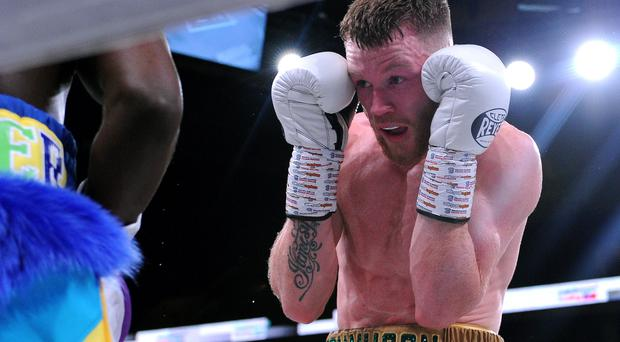 Step up: James Tennyson has a shot at a lightweight title