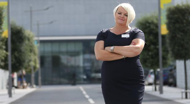 Jacqui Pope looks after the running of Belfast City Council's leisure centres