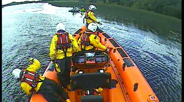 Five people have been rescued by the Carrybridge RNLI in two separate call outs on the same night.