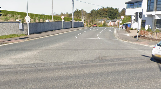 Two vehicles collided at the junction of the A2 and Craigdarragh Road. Credit: Google