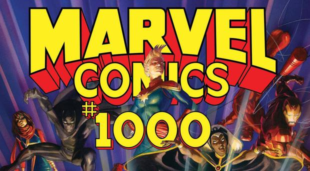 Marvel Comics is celebrating its 80th anniversary (Alex Ross/Marvel Comics via AP)