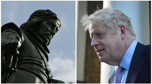 Prime Minister Boris Johnson has been compared to Oliver Cromwell.