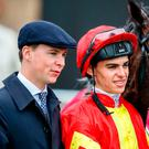 Family ties: Joseph O'Brien, left, and brother Donnacha can combine for glory at Down Royal