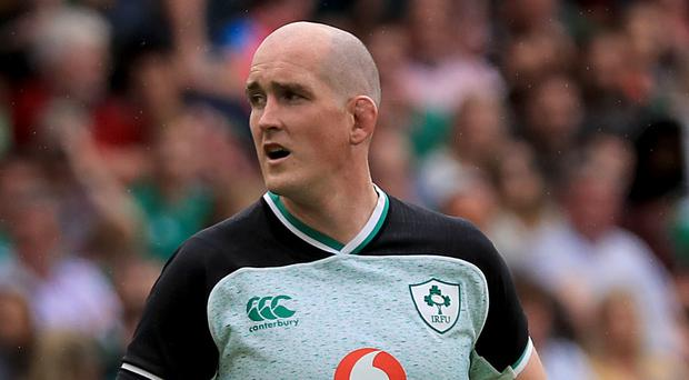 Devin Toner is understood to have missed out on a World Cup place (Donall Farmer/PA)