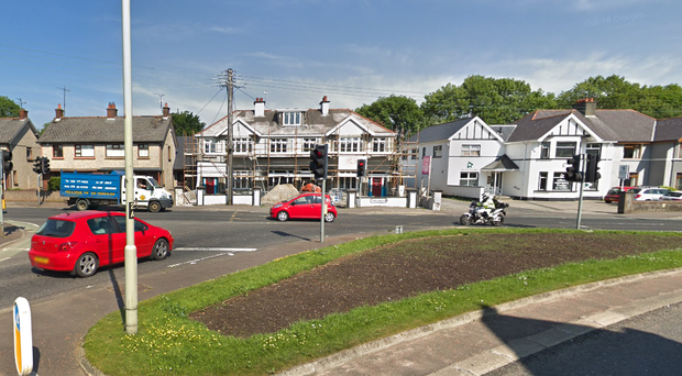 The boy was taken to hospital after being hit by a car in Coleraine.