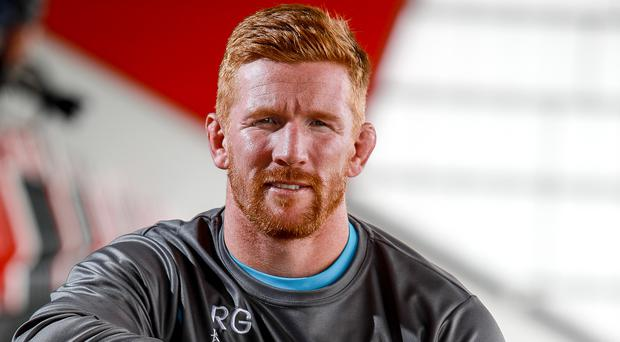 Big challenge: Roddy Grant is relishing his role with Ulster