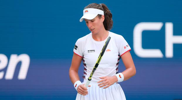 US heartache: Johanna Konta exits the US Open at the hands of Elina Svitolina