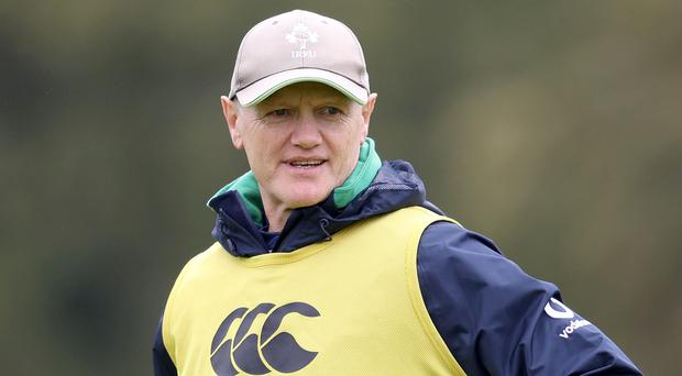 Standing firm: Joe Schmidt