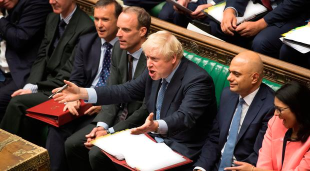 Prime Minister Boris Johnson faced a fresh Brexit showdown in parliament on Wednesday after a stinging defeat over his promise to get Britain out of the European Union at any cost next month.