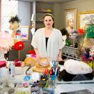 Recognisable designs: Grainne in her studio in Belfast