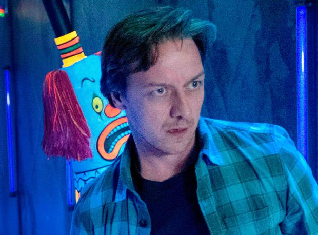 James McAvoy as Bill Denbrough in IT Chapter Two