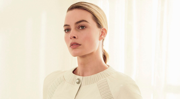Margot Robbie promotes the latest fragrance named after fashion designer Gabrielle (Coco) Chanel