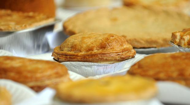 Pies (Joe Giddens/PA)