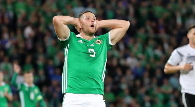 It was so close but yet so far for Conor Washington and Northern Ireland.