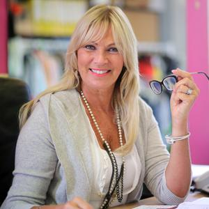 Successful business: Alison Clarke at work in her office