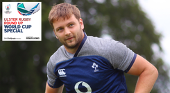Could Iain Henderson find himself amongst the replacements in a World Cup quarter-final?