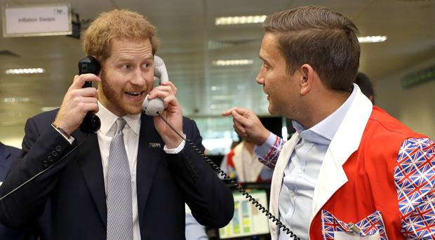 The Duke of Sussex lent his support to a fundraising event (Kirsty Wigglesworth/PA)
