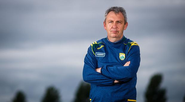 Glory aim: Peter Keane has his sights on the All-Ireland crown