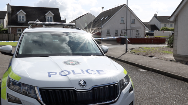 The scene in Ballymoney where a suspicious object was discovered. Credit: Ben Tucker