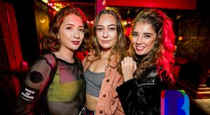 12 Sept 2019 People out at Filthy McNastys for Dsqo. (Liam McBurney/RAZORPX)