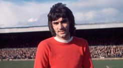 Super six: George Best before hitting six goals against Northampton in the FA Cup in 1970
