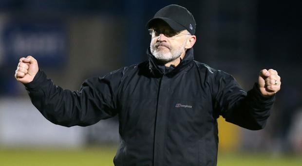 First timer: Mick McDermott has yet to manage Big Two game