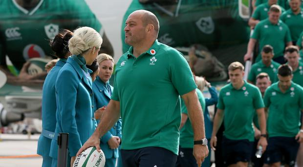 Rory Best leads Ireland into the World Cup (Brian Lawless/PA)