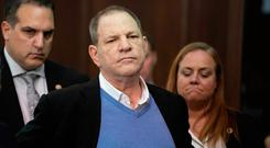 Shocking story: Harvey Weinstein during a recent court appearance