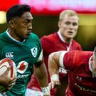 Bundee Aki, left, has revealed he knows full well some people do not like him representing Ireland (Paul Harding/PA)