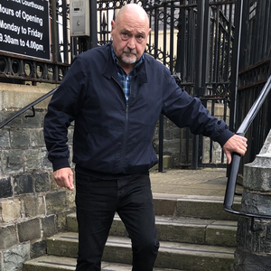 Frederick Young outside Downpatrick Crown Court