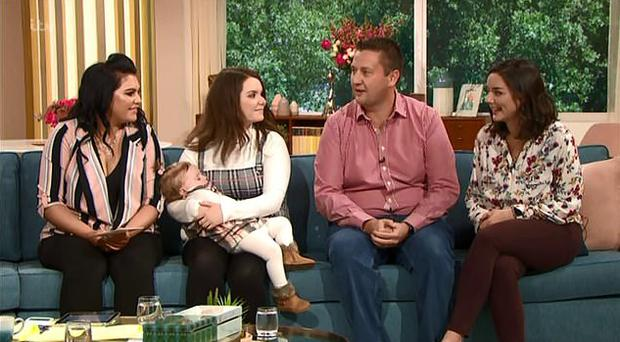 The two families meet for the first time on This Morning