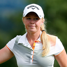 Major ambitions: Stephanie Meadow wants to represent Europe at the Solheim Cup
