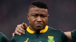 South Africa's Aphiwe Dyantyi