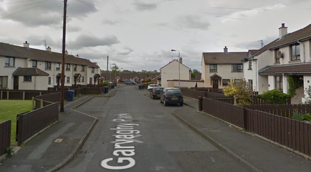 The man's body was found at a house in the Garvaghy Park area of Portadown. Credit: Google