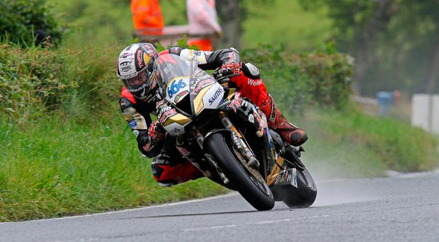 Full throttle: Peter Hickman is eyeing British title joy