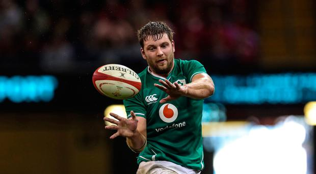 Crunch time: Iain Henderson will be key for Ireland