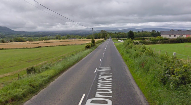 The woman was killed on the Drumrane Road in Limavady. Credit: Google