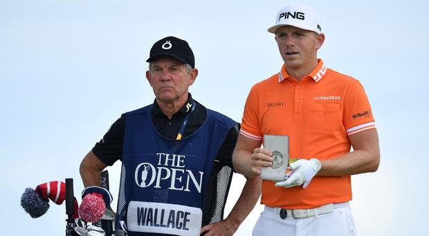 Northern Irish caddie Dave McNeilly and Englishman Matt Wallace parted ways during the summer