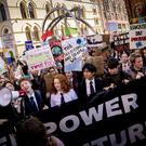 Climate change protest takes place in Belfast city centre on September 20th 2019 (Photo by Kevin Scott for Belfast Telegraph)