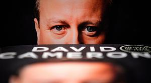 Talking point: Former Prime Minister David Cameron at the launch of his new book, For the Record, this week