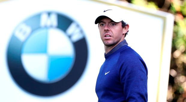 Rory McIlroy produced a stunning third round to shoot his way up the leaderboard at the BMW PGA Championship.