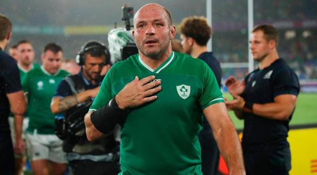 Rory Best played all 80 minutes of Ireland's opening victory over Scotland.