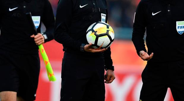The referee was subjected to homophobic abuse