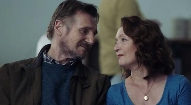 Liam Neeson and Lesley Manville star in Ordinary Love.