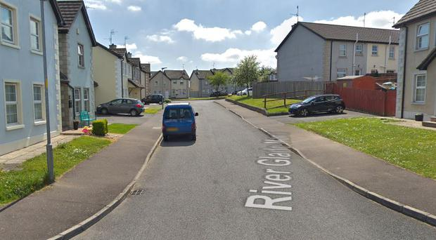 The drugs were seized following a search in the River Glade Manor area of Lurgan. Credit: Google